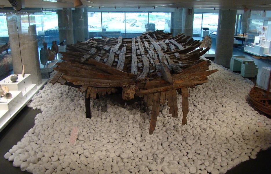 Épave de la Bourse - Musée d'Histoire de Marseille